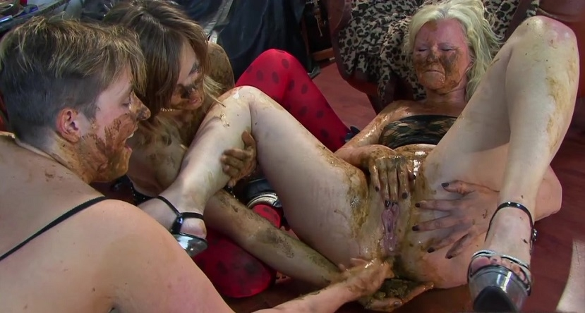 Orgy lesbians scat and piss sex Special #11 2018 (1280x720 HD)