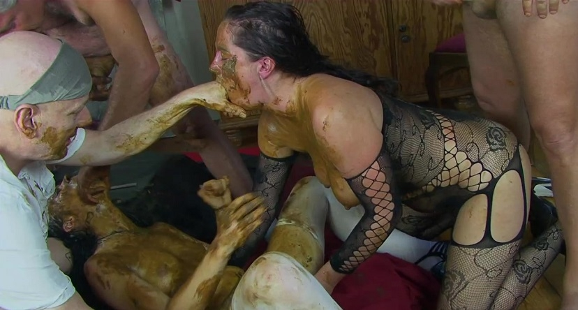 Dirty scat orgy! Special #10 2018 (1280x720 HD)