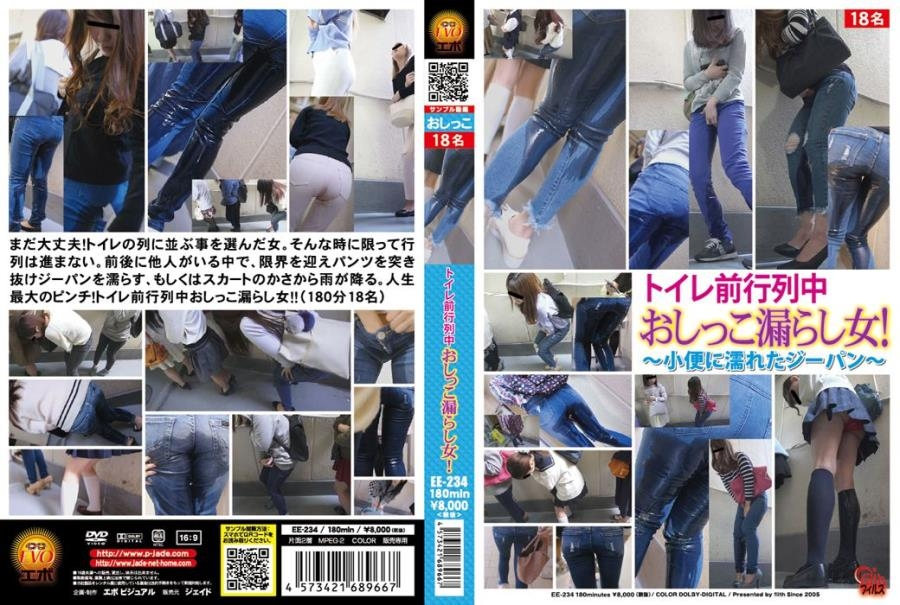 Piss in Jeans Accident on Public ~小便に濡れたジーパン~ EE-234 2018 (1920x1080 FullHD)