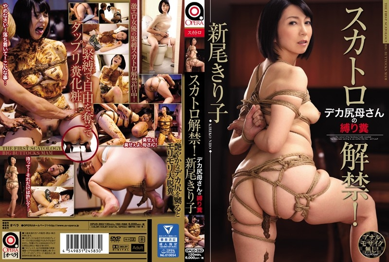 Torture Scat スカトロ解禁!デカ尻母さんの縛り糞 Mother 母親 Incest OPUD-282 2018 (1280x720 HD)