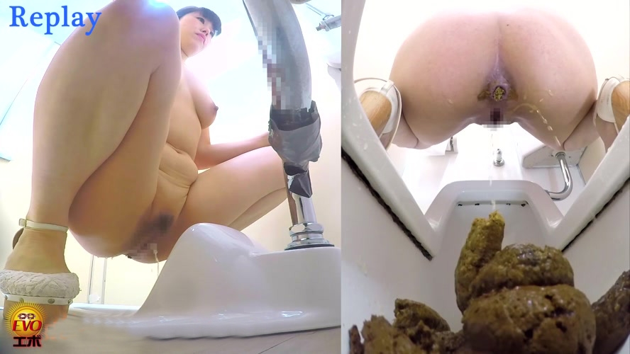 裸の女の子がトイレでたわごと Naked Woman Shits in Toilet Hidden Cam BFEE-87 2019 (1920x1080 FullHD)