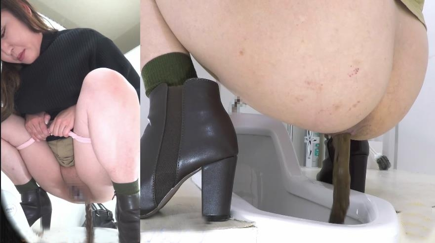 Long Defecation During Menstruation 柄の中の長い排便 BFEE-200 2020 (1920x1080 FullHD)