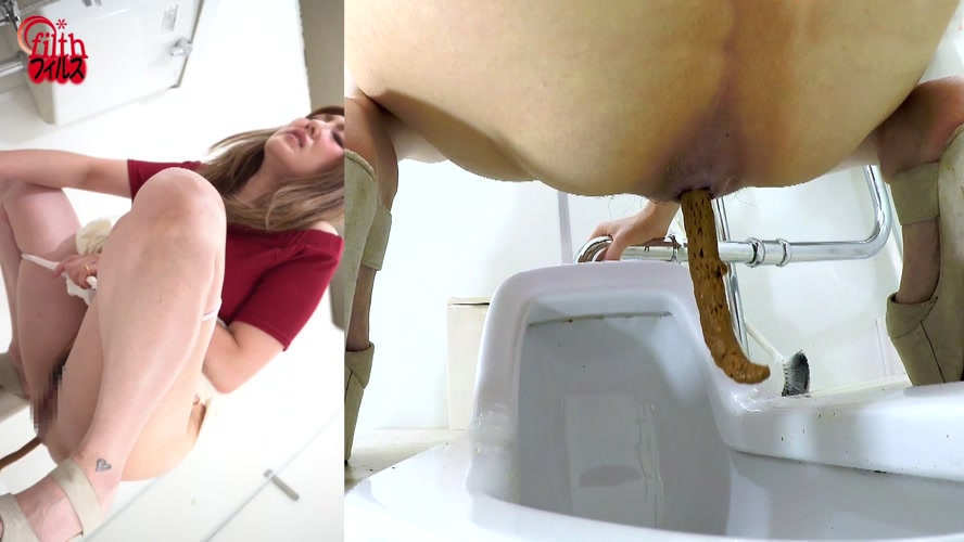 アマチュア糞トイレ排泄 Amateur Shitting Toilet Excretion BFFF-343 2020 (1920x1080 FullHD)