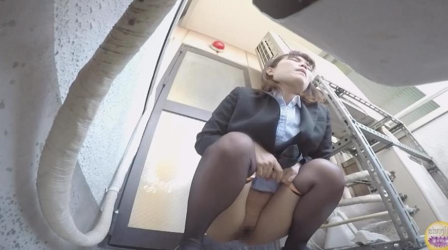 Blocked Toilet, Office Lady Upskirt Peeing BFSL-205 2020 (1920x1080 FullHD)